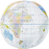 Globe wereldbol strandbal_